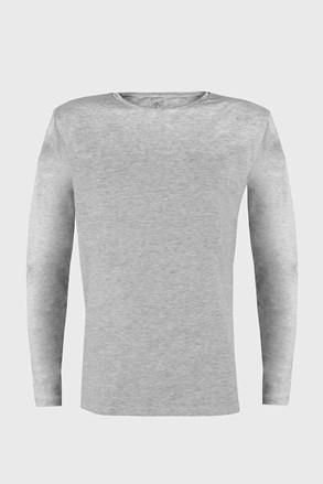 Tričko s dlouhým rukávem Cotton Nature šedé