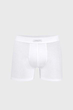 Pánské boxerky Cottone Nature bílé