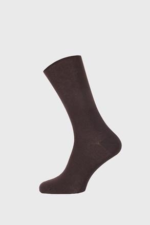 Hnědé bambusové ponožky Roger