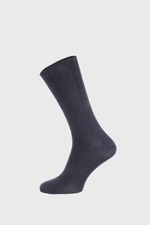 Сині ребристі шкарпетки