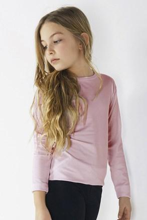 Dívčí tričko s dlouhým rukávem Star