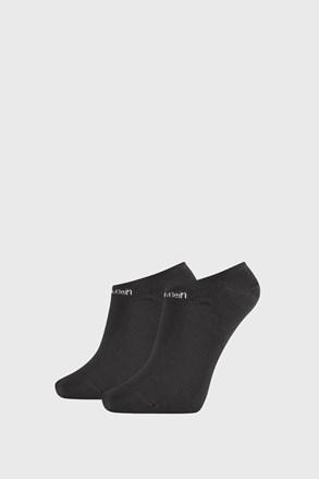 2 PACK dámských ponožek Calvin Klein Leanne černé