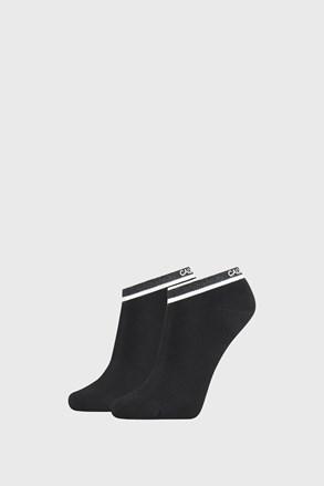2 PACK černých dámských ponožek Calvin Klein Spencer
