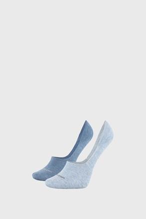 2 PACK dámských ponožek Calvin Klein Jessica modré