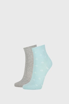2 PACK dámských ponožek Calvin Klein Gretchen