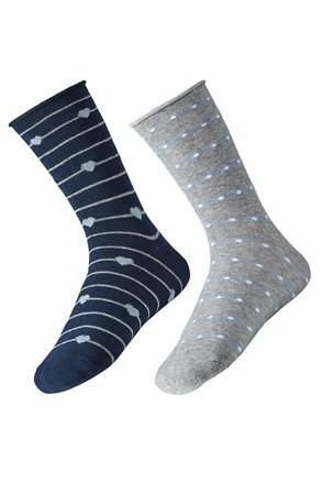 2 pack dámských ponožek Ely