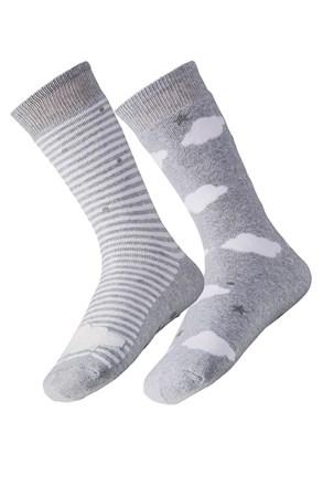 2 pack dámských hřejivých ponožek Cloud
