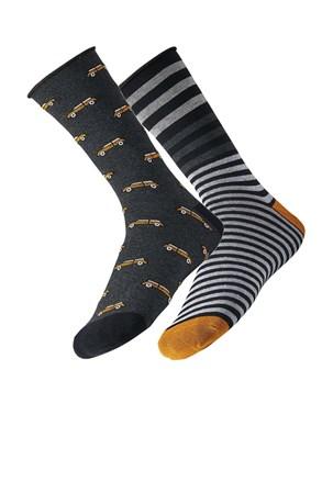 2 pack pánských ponožek Car