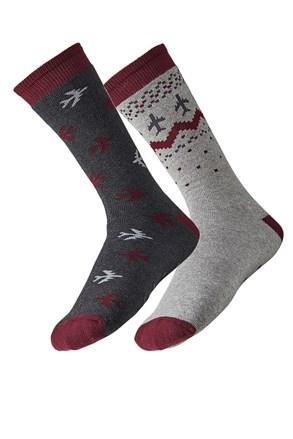 2 pack pánských ponožek Plane