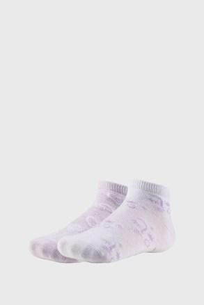 2 PACK dívčích kotníkových ponožek Summer