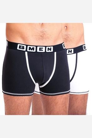 2 pack pánských boxerek BELLINDA BMEN černobílé