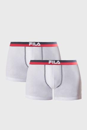 2 PACK bílých boxerek var.III FILA