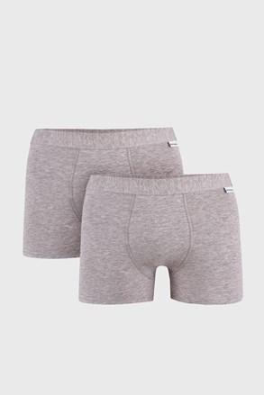 2 PACK šedých boxerek Uomo Extra