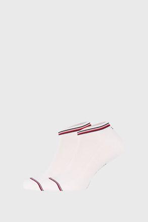 2 PACK bilých ponožek Tommy Hilfiger Iconic Sneaker