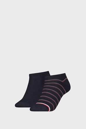 2 PACK dámských ponožek Tommy Hilfiger Preppy Navy