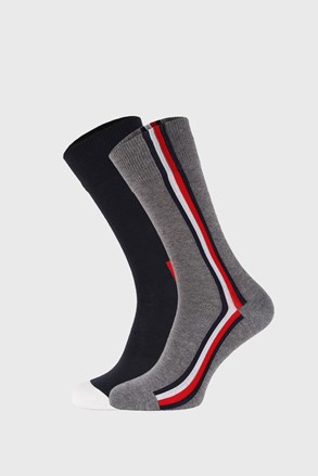 2 PACK vysokých ponožek Tommy Hilfiger Iconic Hidden