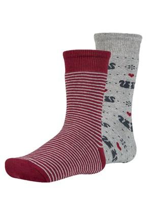 2 pack dětských hřejivých ponožek Risl