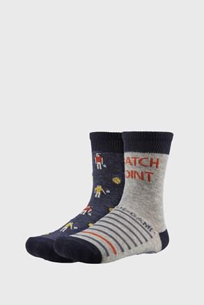 2 PACK chlapeckých ponožek Funny