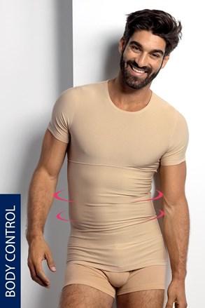 Stahovací tričko s kulatým výstřihem