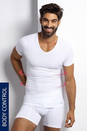 Stahovací tričko s véčkovým výstřihem
