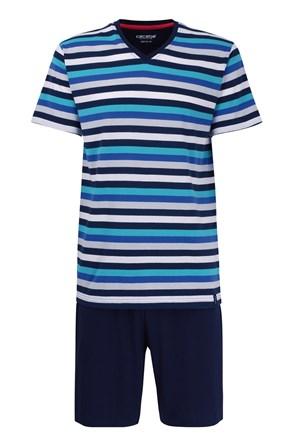 Pánské pyžamo CECEBA Aqua 5XL plus nežehlivé