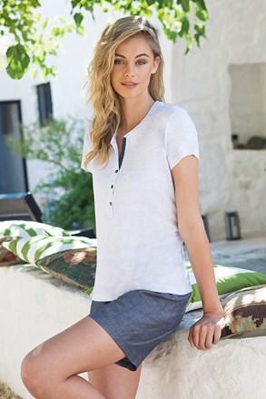 Damski komplet: T-shirt i krótkie spodenki