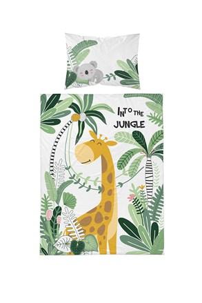 Bambusové povlečení do dětské postýlky Jungle