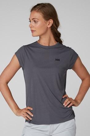 Dámske sivé športové tričko Helly Hansen