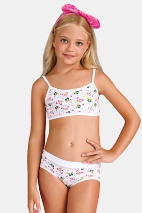 Dívčí komplet kalhotek a topu Butterfly I