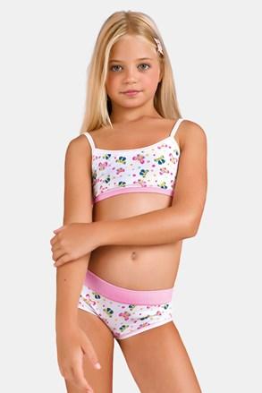 Dívčí komplet kalhotek a topu Butterfly III