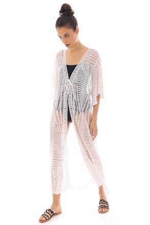 Plážové šaty Mairi bílé