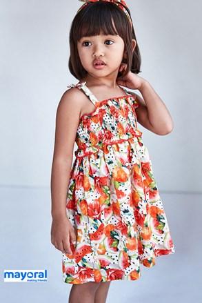 Dívčí šaty s čelenkou Mayoral Melone