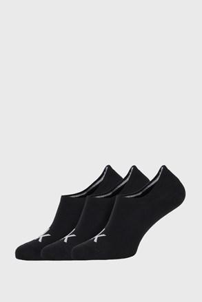 3 PACK černých ponožek Calvin Klein Albert