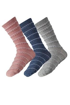 3 pack dámských ponožek Lea