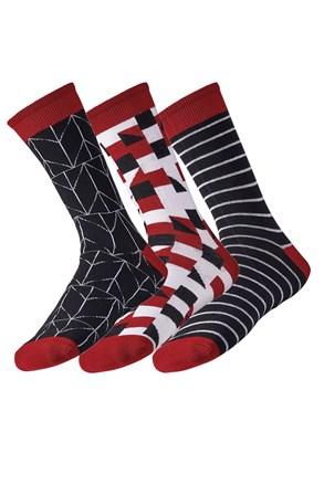 3 pack pánských ponožek Line