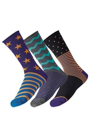 3 pack pánských ponožek Star