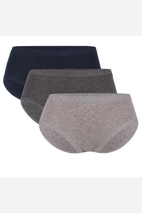 3 PACK klasických kalhotek Celeste