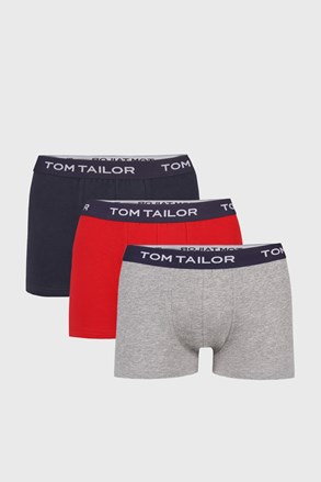 3 PACK boxerek Tom Tailor III