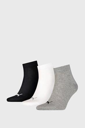3 PACK ponožek Puma Quarter Plain