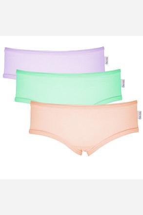 3 pack dívčích kalhotek Colour
