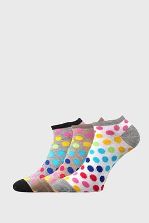 3 PACK dámských ponožek Piki 65