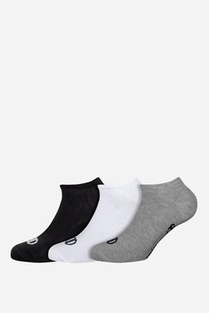 3 pack nízkých sportovních ponožek Champion barevné