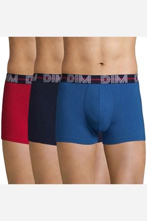 3 pack pánských boxerek DIM barevné