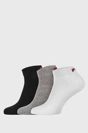 3 pack три цвята къси чорапи FILA