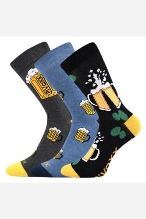 3 pack pánských ponožek PiVoXX III.