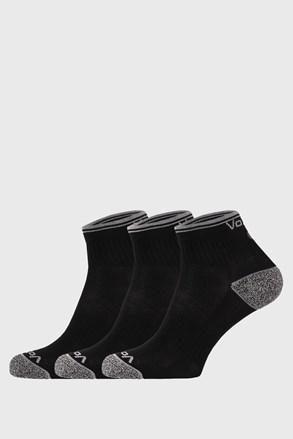 3 PACK sportovních ponožek Ray černý