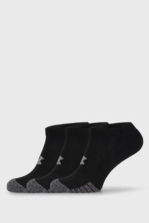 3 PACK černých ponožek Under Armour
