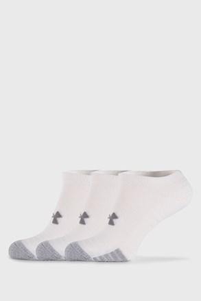 3 PACK bílých ponožek Under Armour