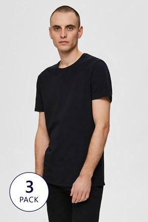3 PACK triček Selected Homme New Pima