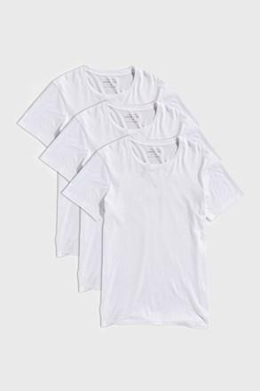 3 PACK bílých triček Austin